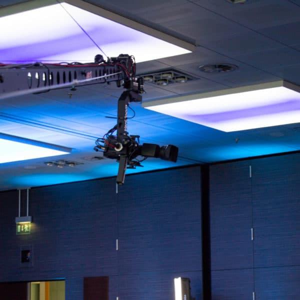 Kamerakran als high end Veranstaltungstechnik für digitale Veranstaltungen
