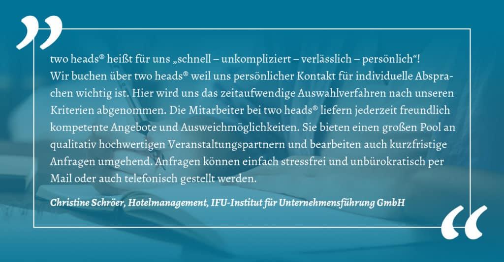 Referenz des IFU-Instituts der Kategorie Online und Hybrid Event sowie Präsenzveranstaltung