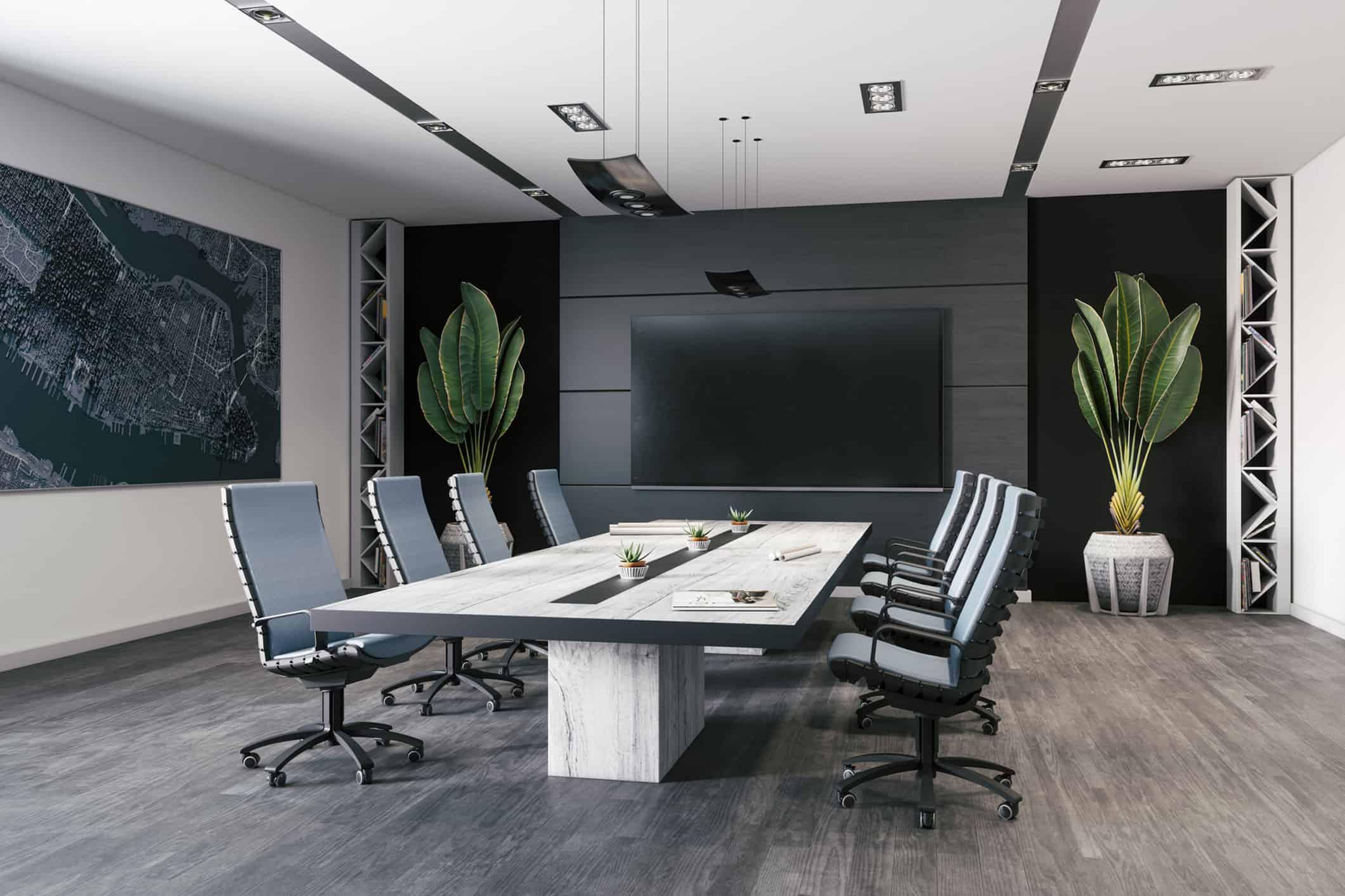 Moderner Meetingraum für Business Events