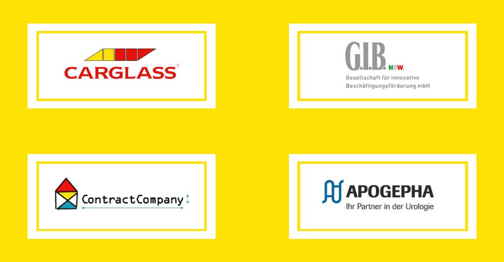 ,Referenzengruppe Contract Company, GIB, Carglass, apogepha der Kategorie Online und Hybrid Event sowie Präsenzveranstaltung
