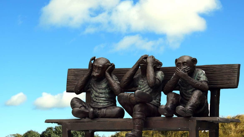 Drei Affen Service Weisheiten Beitrag Blog